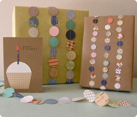 öko ajándékcsomagolás / eco xmas packaging