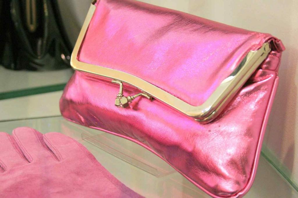 pink vintage táska