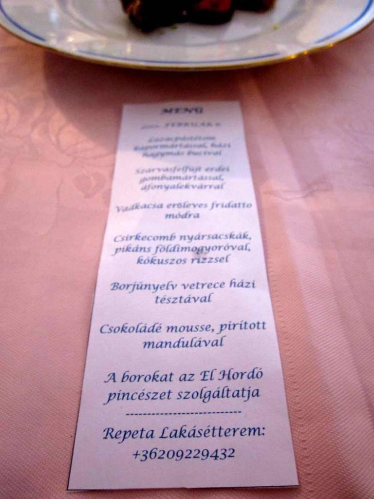 repeta flat restaurant