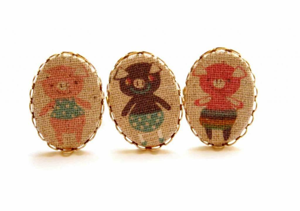 malac gyűrűk / piggie rings