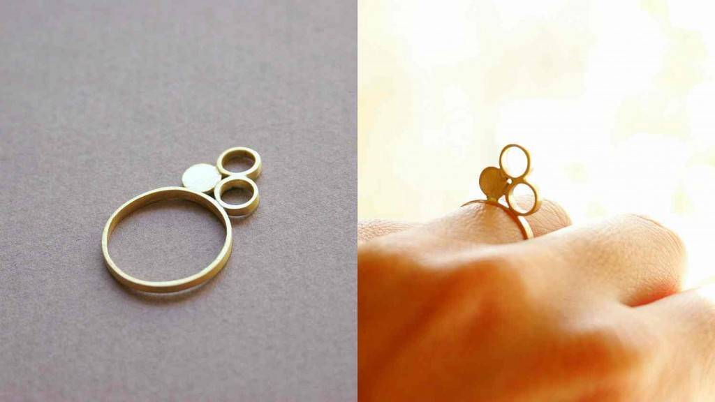 buborékok - gyűrű