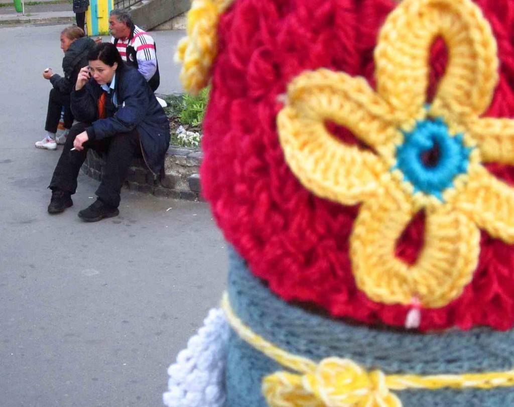 gerillakötés a Moszkva téren