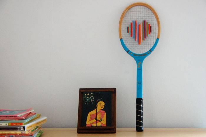 teniszütő újrahasznosítás / tennis racket recycling