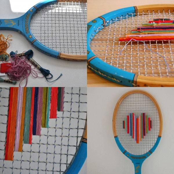teniszütő újrahasznosítás / recycling a tennis rocket