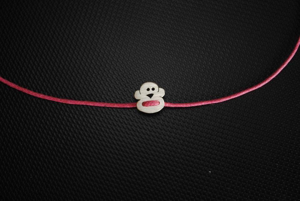visy dóri majom karkötő / dori visy monkey bracelet