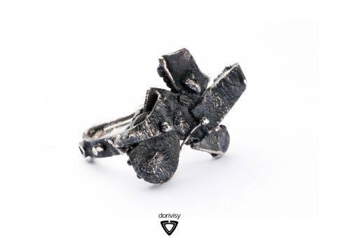 visy dóri ezüst ékszer gyűrű / dori visy sterling silver ring