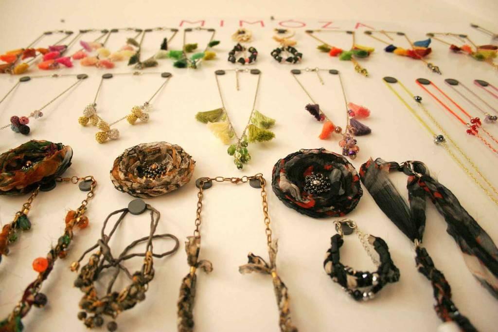 mimóza fabric jewelry budapest