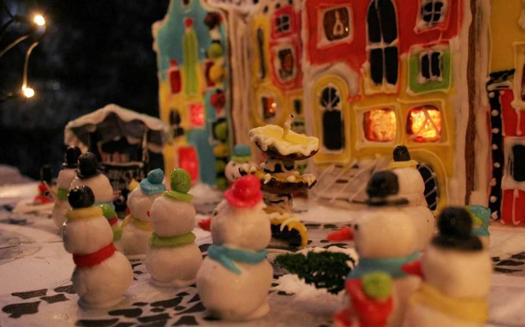 mézeskalács hóemberek / gingerbread snowmen