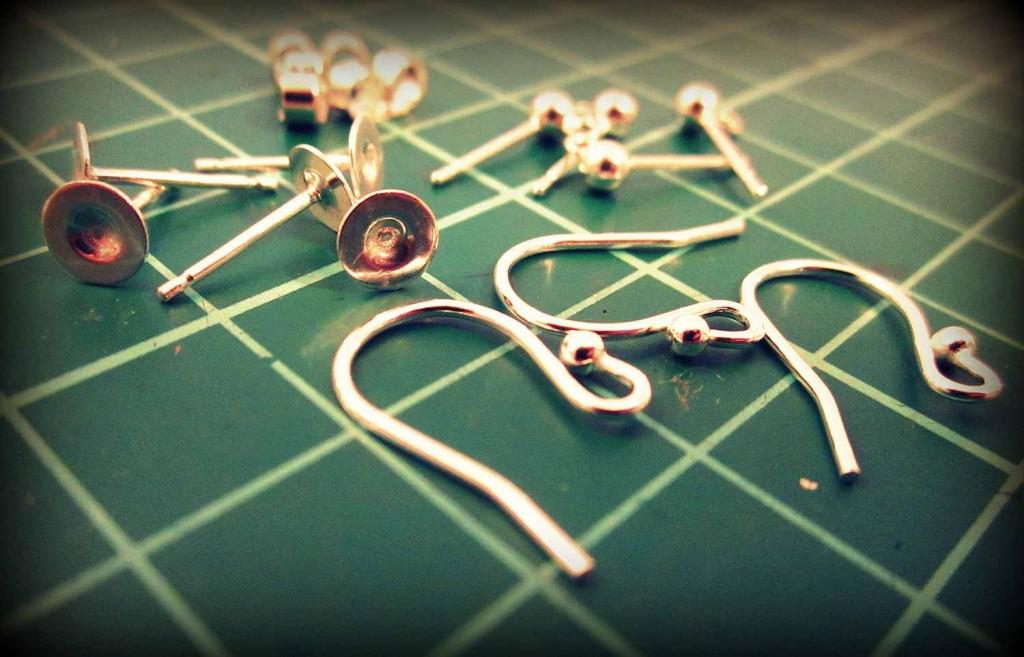 ezüst fülbevaló / sterling silver earrings