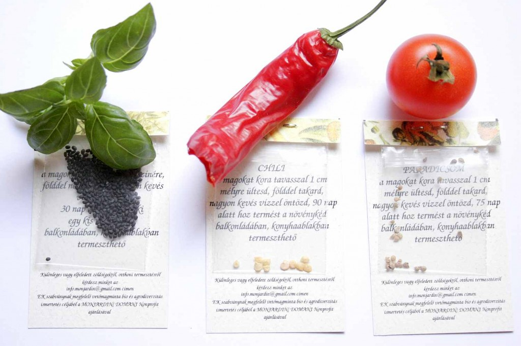 mon jardin vetőmag / mon jardin seeds