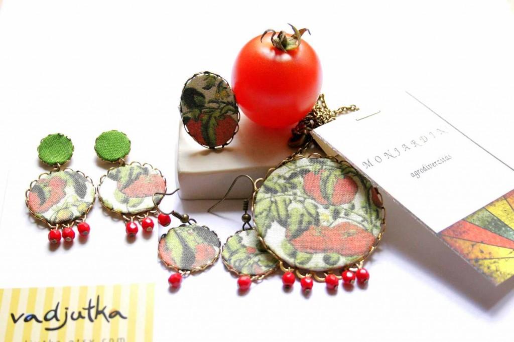 tomato design jewelry