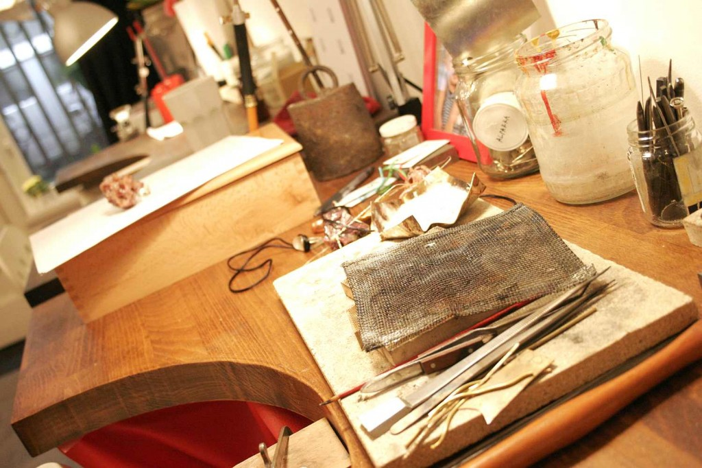 silversmithing studio workshop budapest