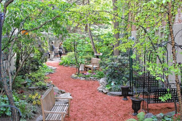 közösségi kert, new york