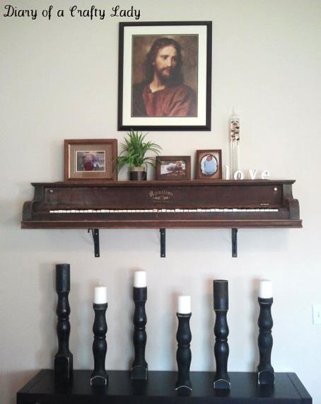 zongora polcként