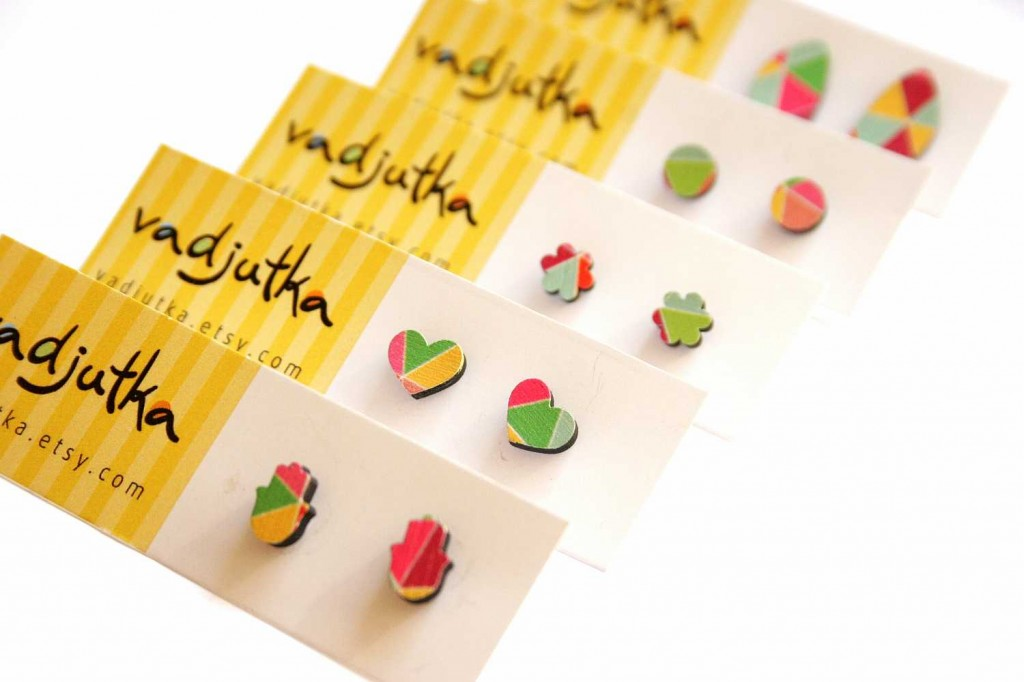 vadjutka design jewelry: woody collection