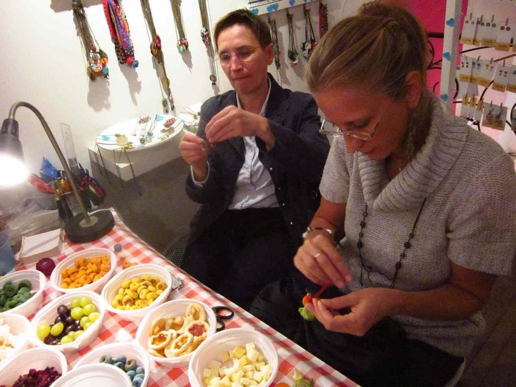 vadjutka ehető ékszer workshop
