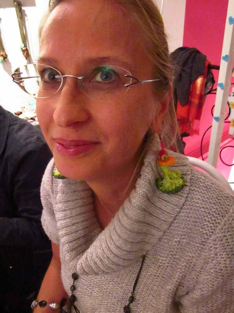 brokkoli fülbevaló