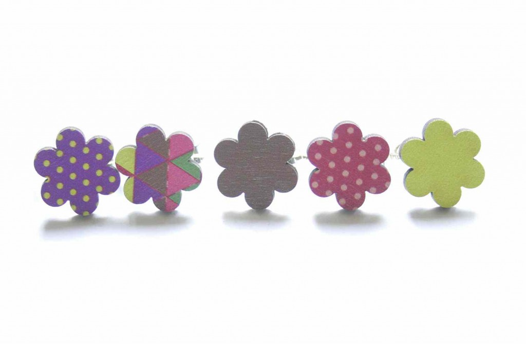 small flower rings