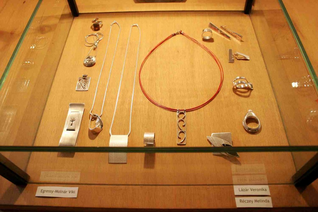 sterling silver jewelry exhibition szentendre