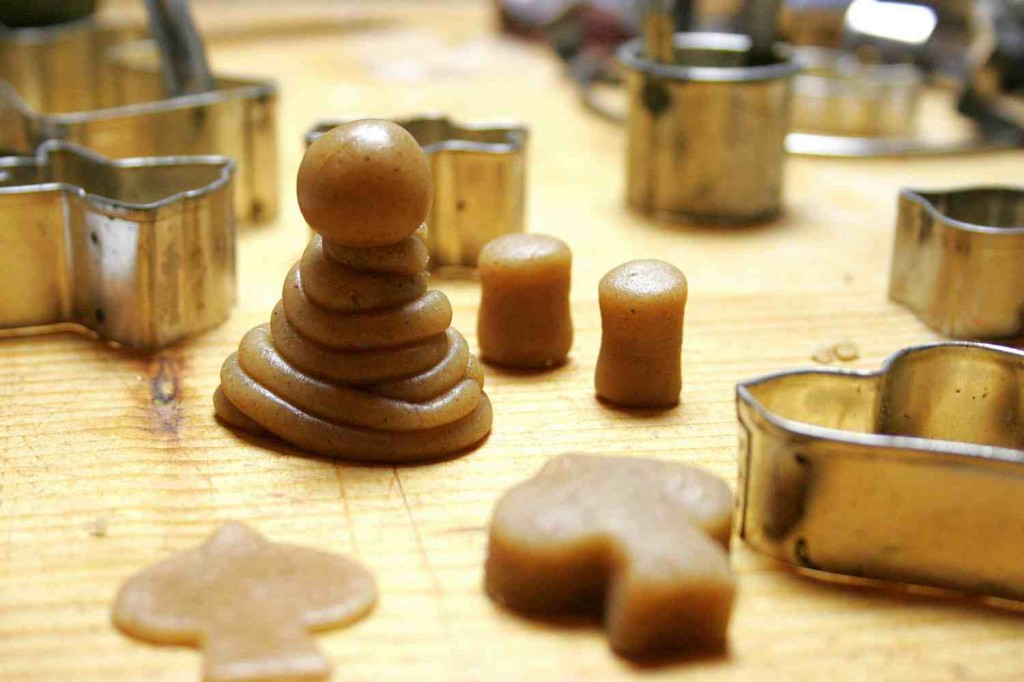 gingerbread making