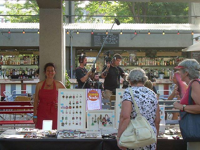 hőség a wampon / heat at the design fair