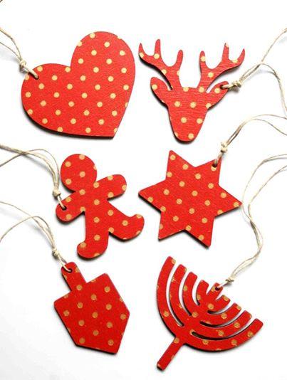 karácsonyfadíszek / christmas tree ornaments