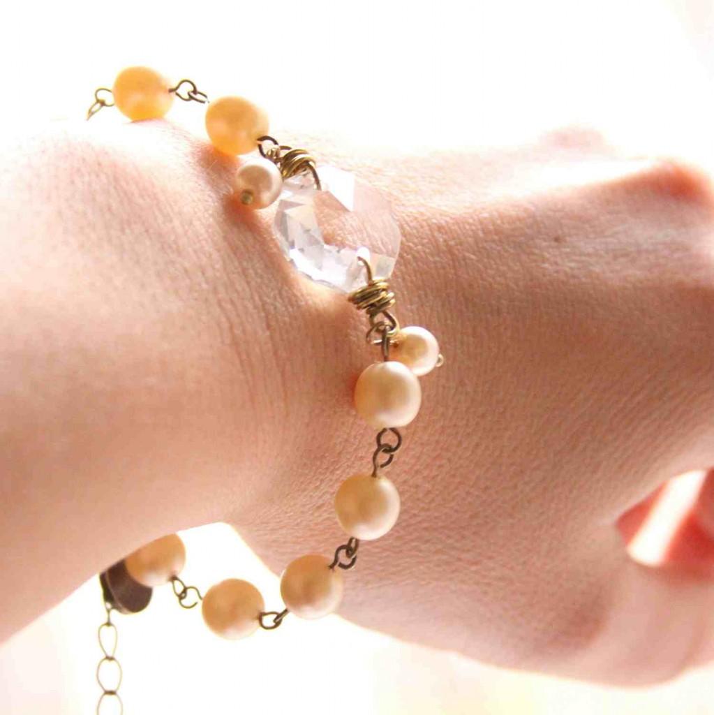 esküvői karkötő / wedding bracelet