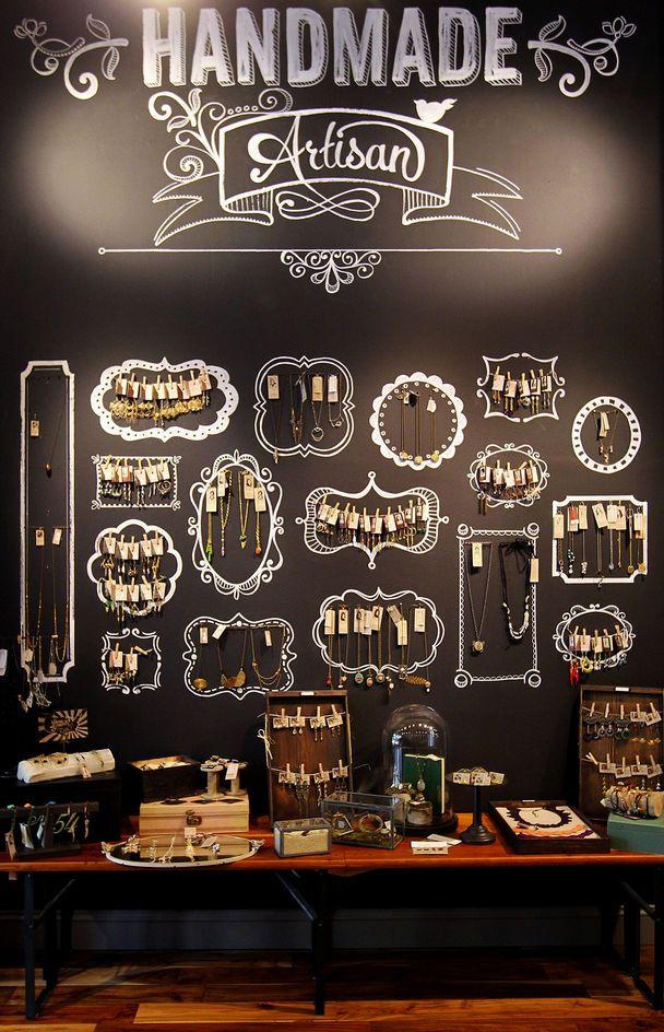 jewelry shop decoration