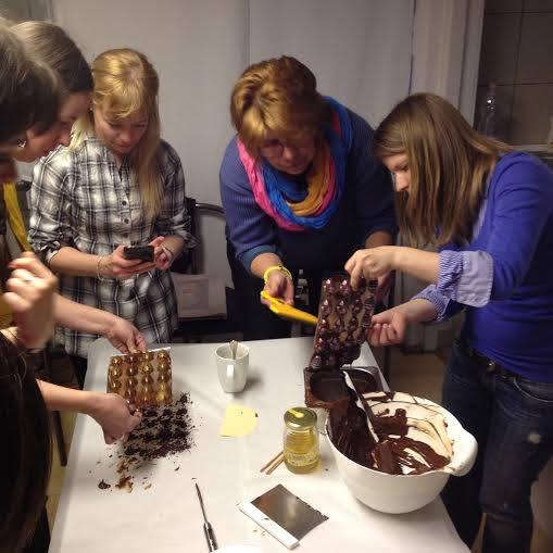 bonbon készítő workshop