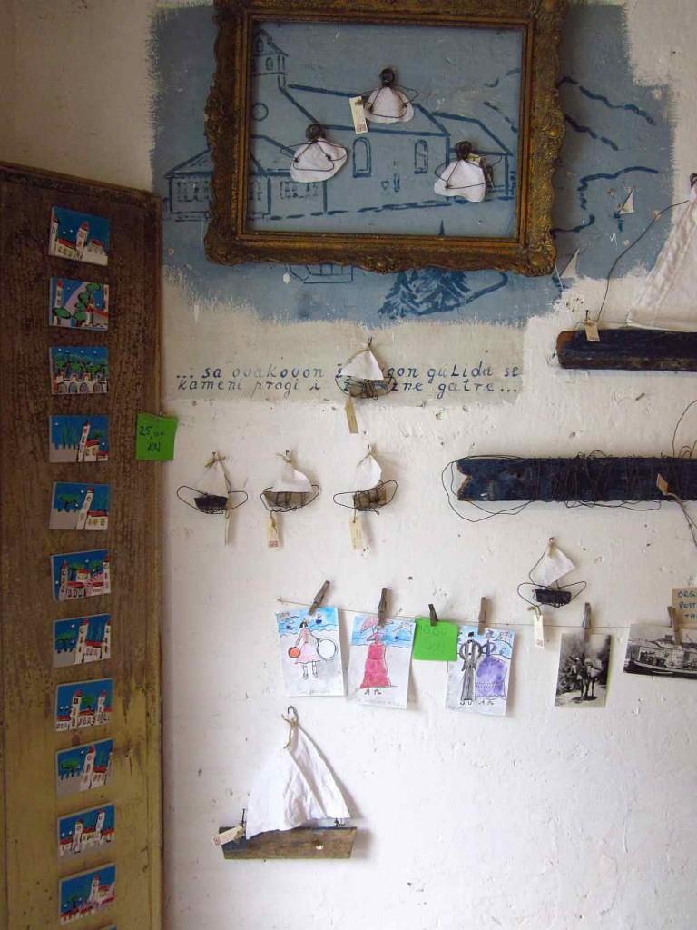 arts and crafts shop in senj, croatia