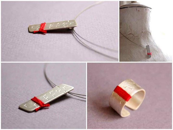 ezüst madár medál / sterling silver bird pendant