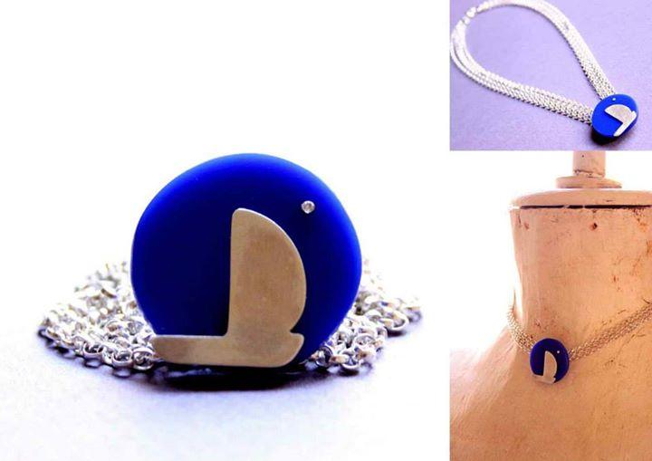 hajó medál / ship pendant