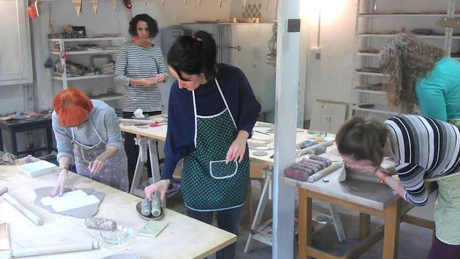 apacuka kerámia workshop