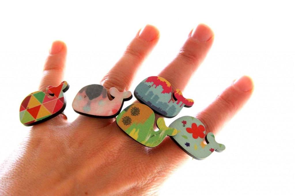 bálna gyűrű / whale ring