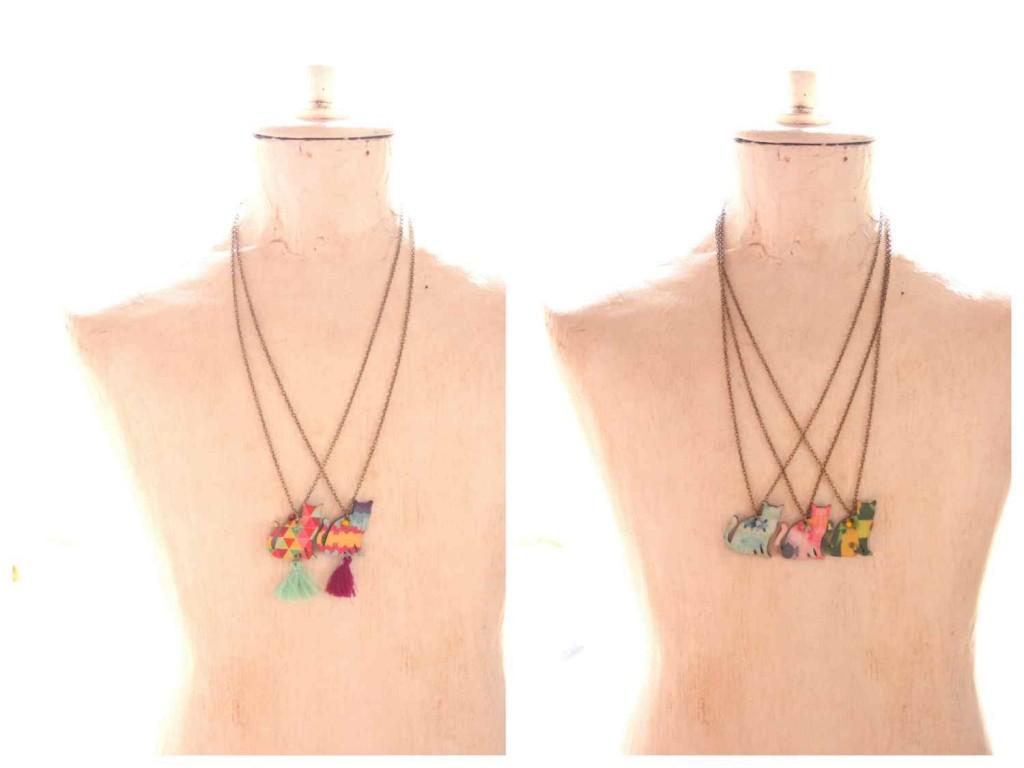 cica nyaklánc / cat necklace