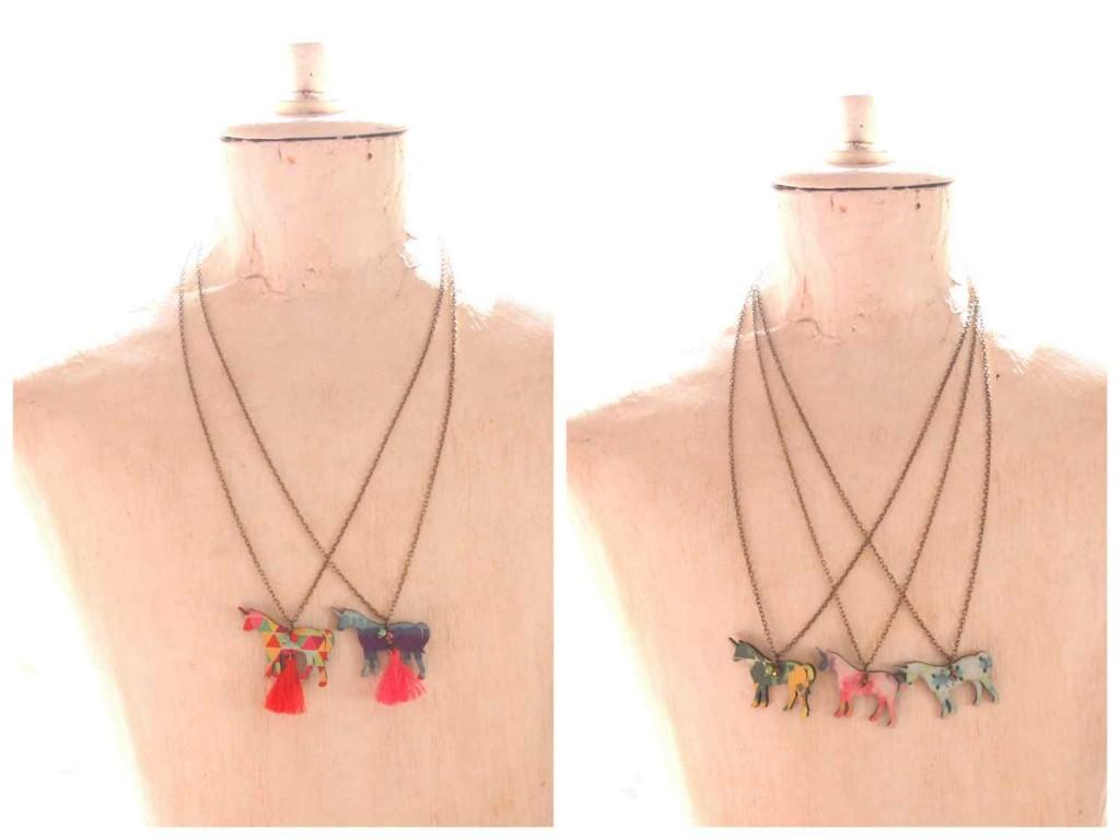 egyszarvú design ékszer nyaklánc / unicorn necklace
