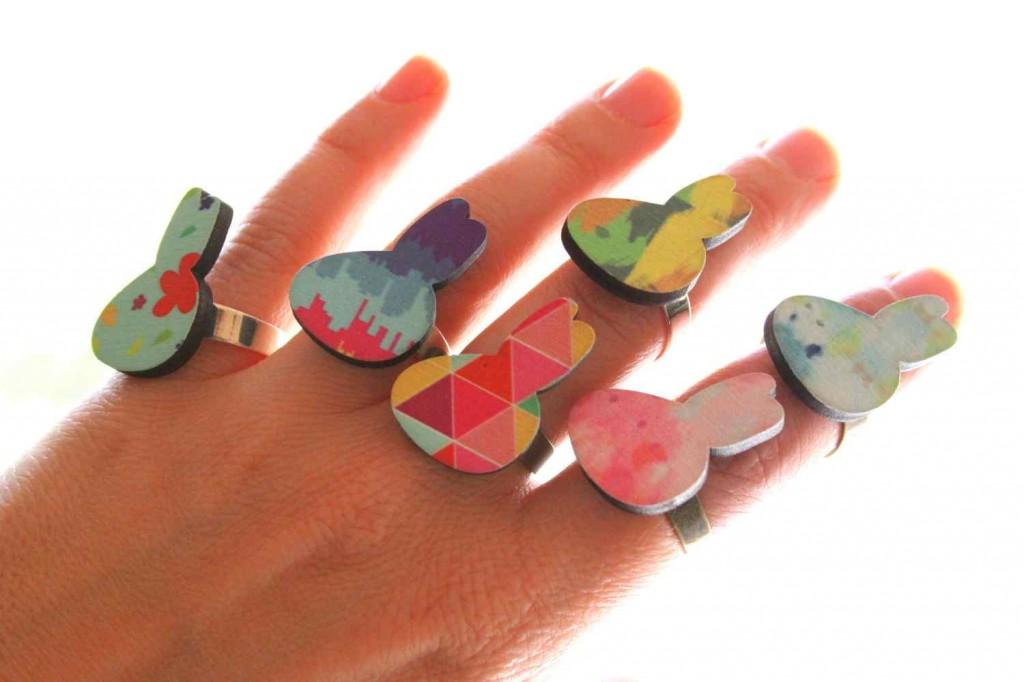 nyuszi gyűrű / rabbit ring vadjutka